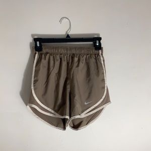 Brown Nike Running Shorts
